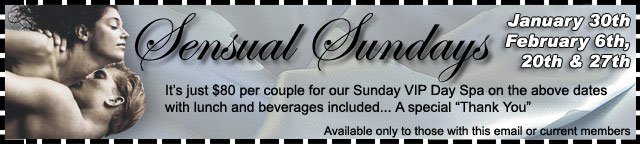 Sensual Sundays Coupon