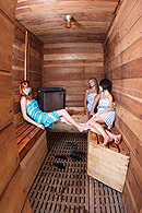 Nude Sauna - Sea Mountain Resort - Desert Hot Springs CA